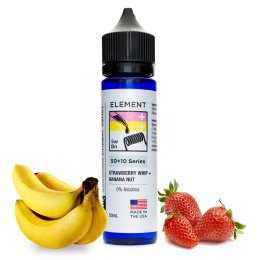 Strawberry Whip + Banana Nut - Element E-liquid