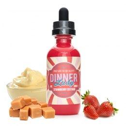 Strawberry Custard - Dinner Lady