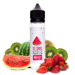 Tico Mix Watermelon Strawberry n Kiwi - Daruma Eliquid