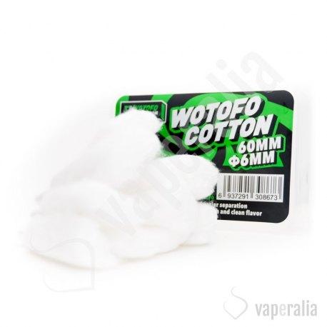 Algodón Algleted Organic 6mm - Wotofo