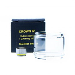 Conector para Crown IV con Bubble Glass + Chimney Tube - Uwell