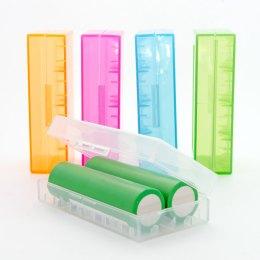 Caja protectora para baterías 2x18650
