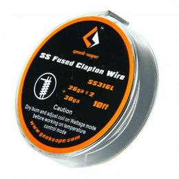 Hilo Fused Clapton SS316L - GeekVape