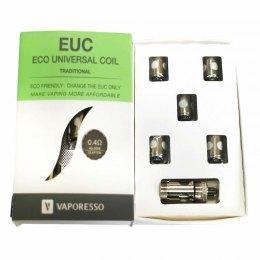 Pack 5 resistencias EUC Tradicional + Adaptador - Vaporesso