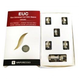 Pack 5 resistencias EUC Ceramic + Adaptador - Vaporesso