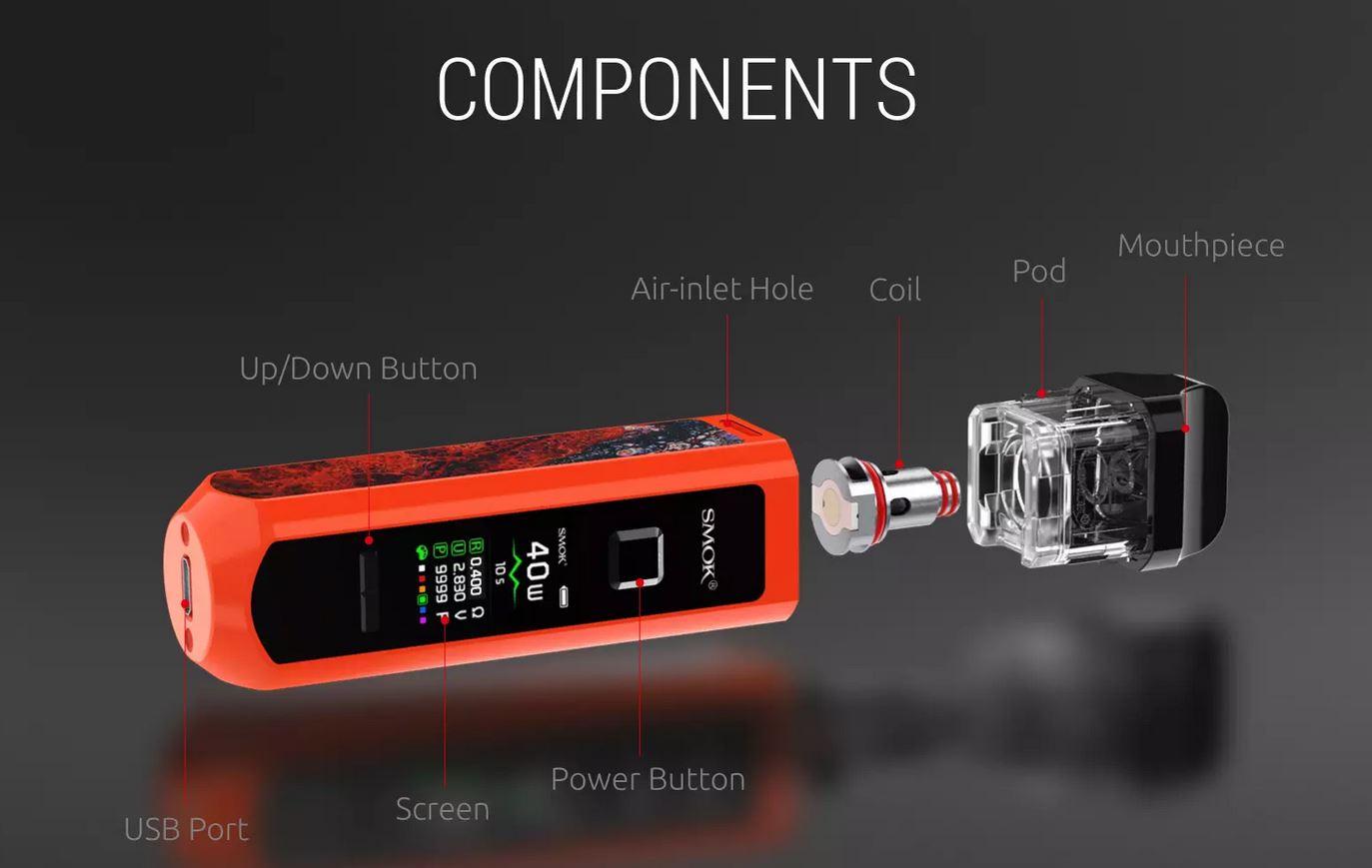 Pod RPM40 de Smok Componentes